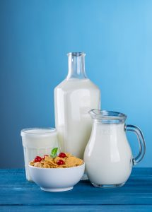 vitamins and minerals for anemia - milk and dairy products
